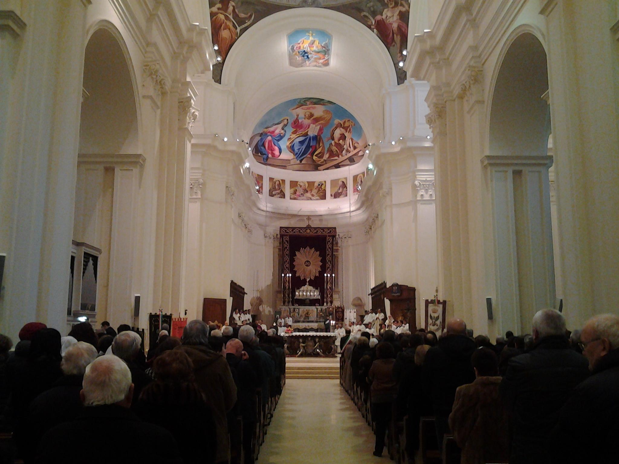 Nessuna festa di San Corrado per rispetto della tragedia che ha colpito le famiglie di Manuel e Gabriele