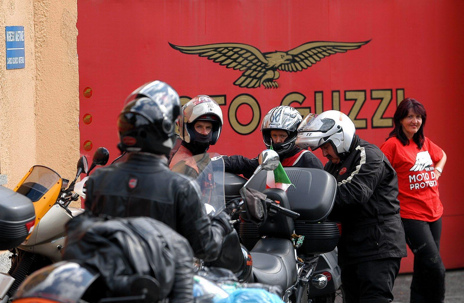 Raduno MOTO GUZZI sicilia noto siracusa ragusa scicli