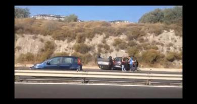 incidente auto autostrada
