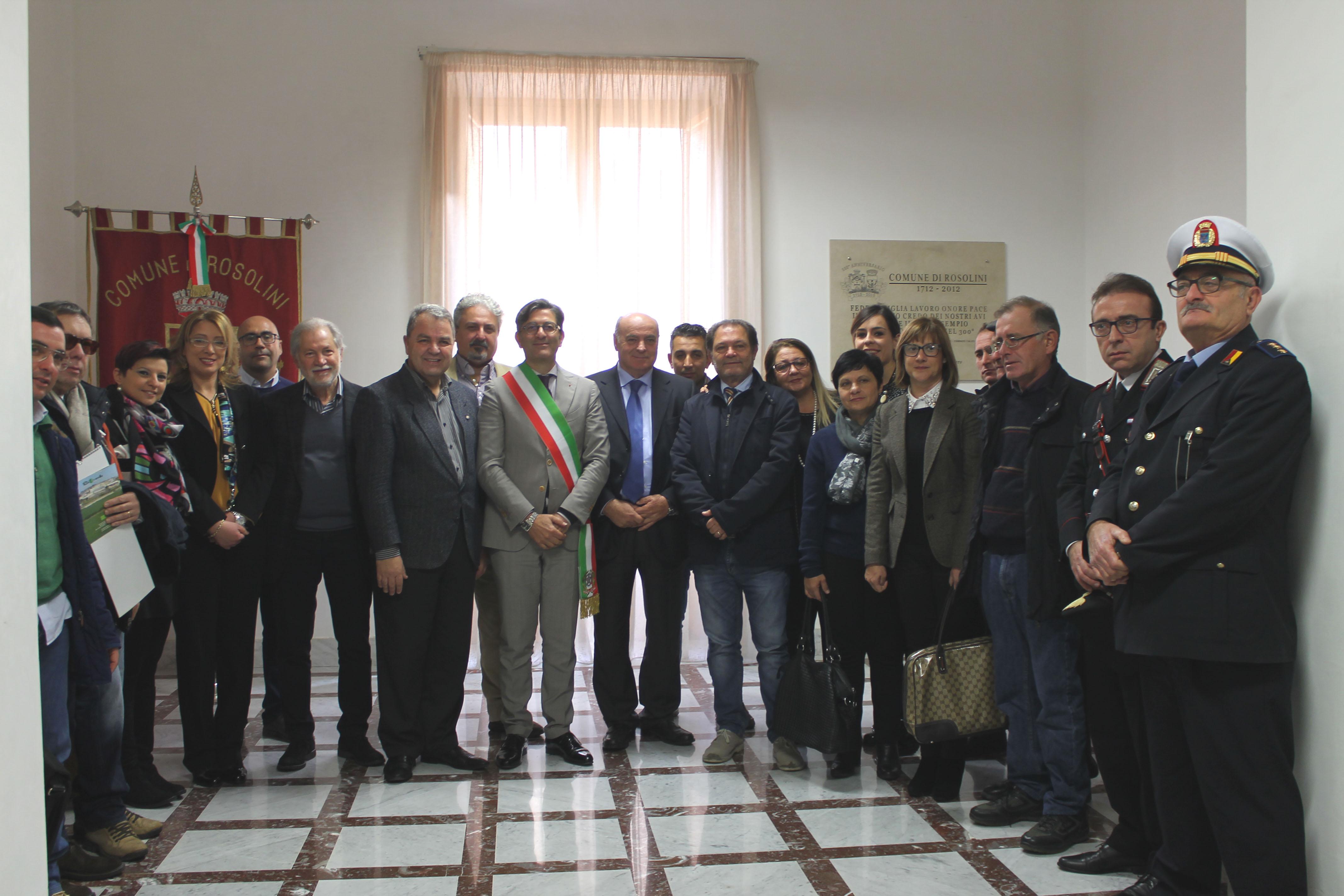 Visita istituzionale a palazzo di citt del presidente for Canale camera dei deputati