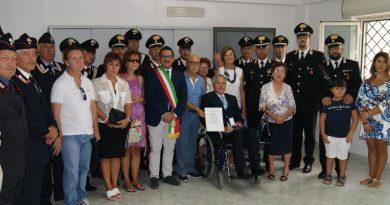 Medaglia d'argento al valore al sottotenente Luciano Magnano
