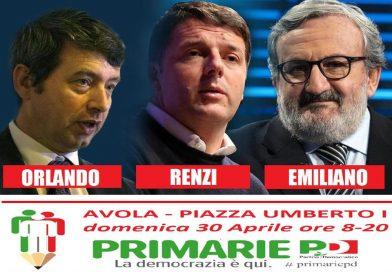 Avola: domani in piazza Umberto I verrà allestito il seggio per le primarie