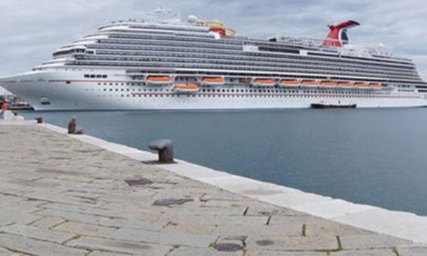 Siracusa porto grande: inaugurata la banchina per navi da crociera