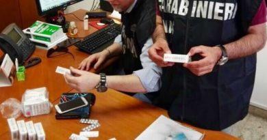 Siracusa: I carabinieri sequestrano sostanze dopanti e denunciato un body bulder