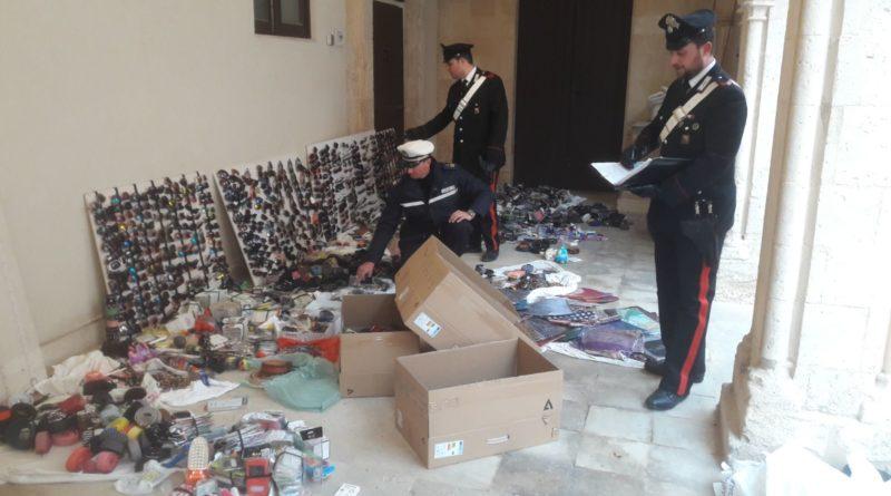 Siracusa: Lotta all'abusivismo commerciale, maxi sequestro dei carabinieri