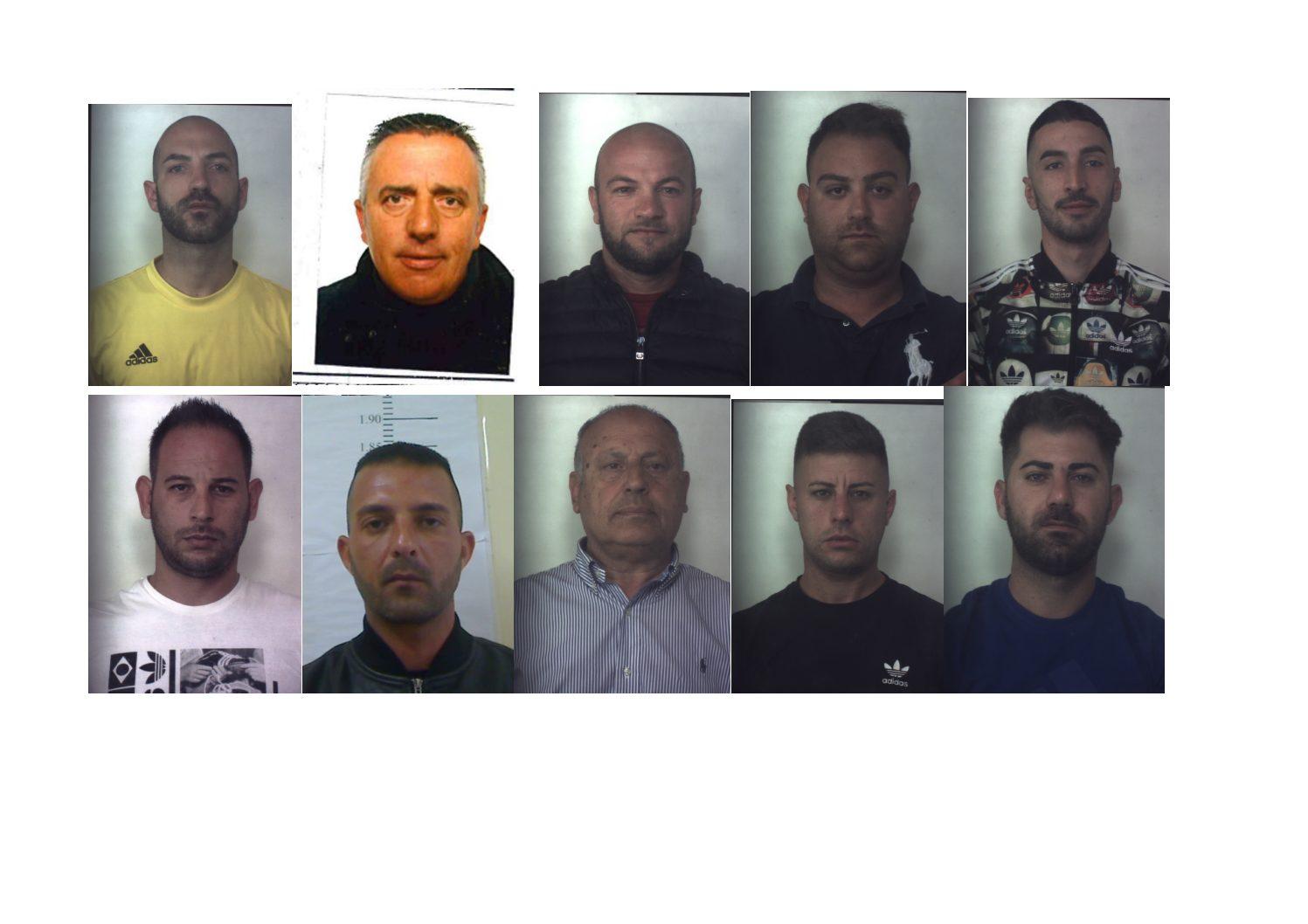 Arrestate 11 persone appartenenti a banda dedita allo spaccio di droga tra Siracusa e Priolo Gargallo