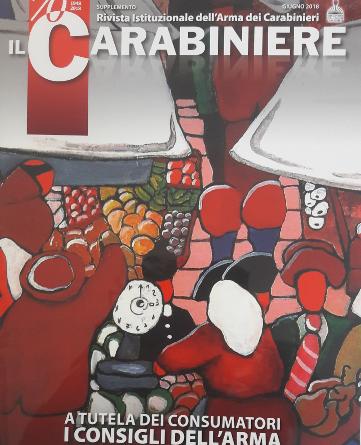Il Carabinieri, la rivista dell'arma consiglia sui prodotti alimentari contraffatti