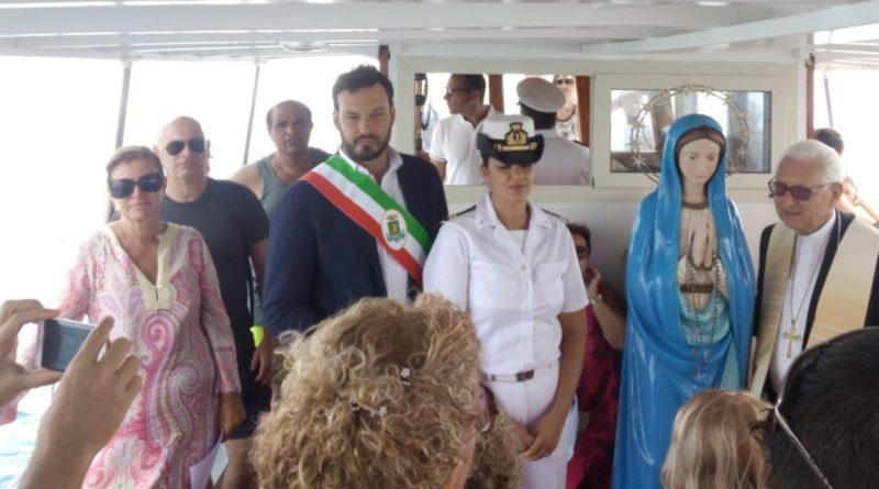 Siracusa: Il sindaco alla processione di Fontane Bianche della Stella Mare