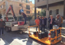 Rosolini:  Nuova tecnologia per riparare il manto stradale, su iniziativa dell'Assessore ai LL.PP. Di Stefano, stamattina un test in città