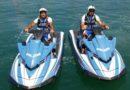Acquascooter in azione per vigilare le coste