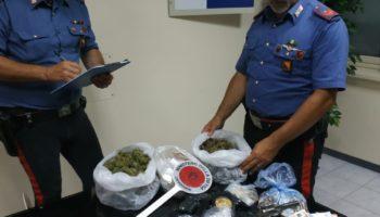 Armi e droga in casa: arrestato!