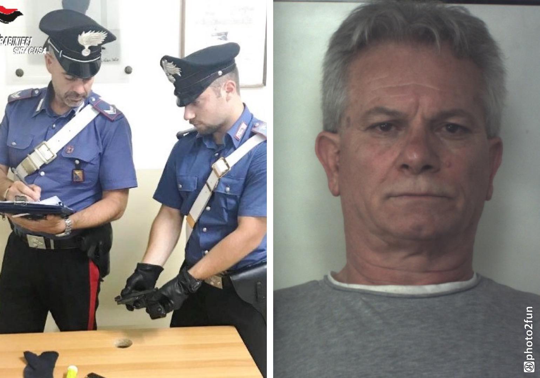 Un guardiano girava con una pistola con matricola abrasa e viene arrestato