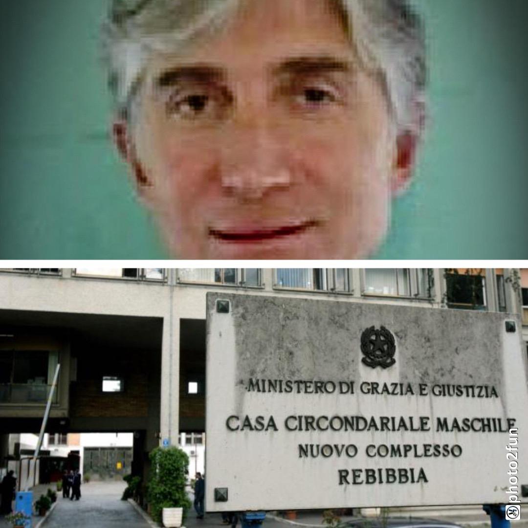 Terzo giorno al carcere di Rebibbia per l'ex P.M. Longo