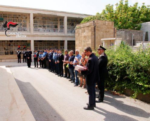Commemorazione della ricorrenza della scomparsa del carabiniere Salvatore Scala